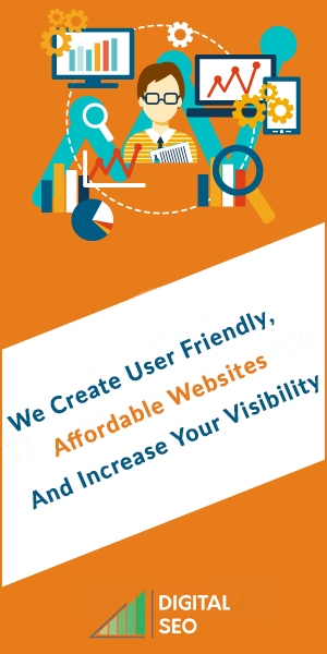 A horizontal banner bad in orange and white colours with text and images representing all the features of Digitalmarketing and SEO Company in Chennai.